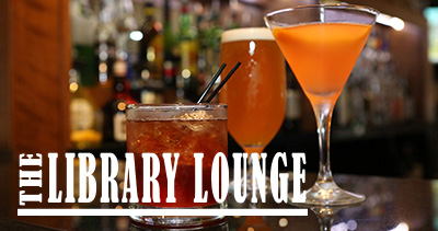 The Library Lounge at Crowne Plaza Syracuse