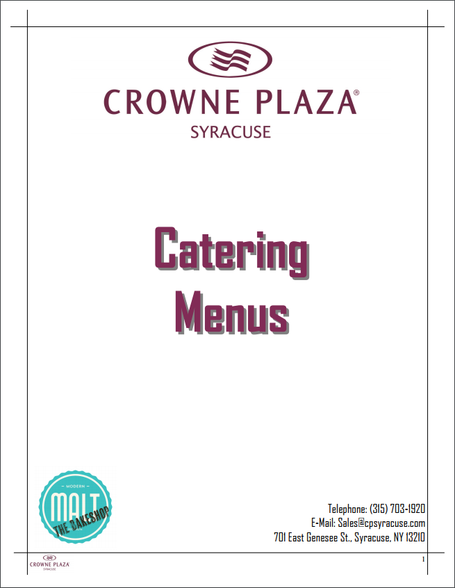 Restaurants That Cater In Syracuse Ny